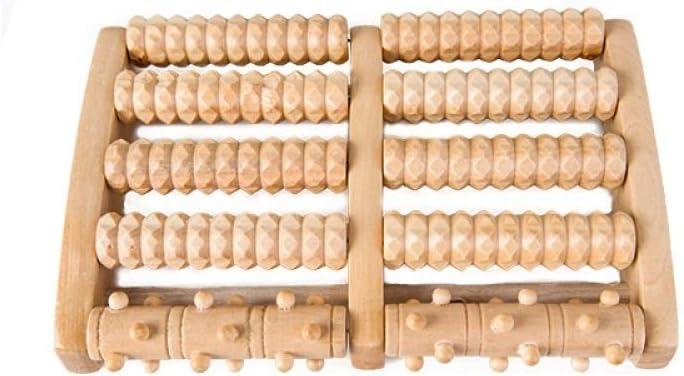 Masseur De Pied en Bois Rouleau Sauna Accessoires H/ôtel Spa Profiter,Couleur Bois,Taille Unique