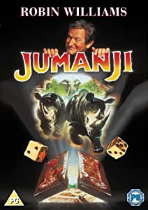 Jumanji DVD: Amazon.co.uk: Robin Williams, Jonathan Hyde ...