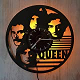 Art Finder Queen Band Gift Yellow Led Light Vinyl