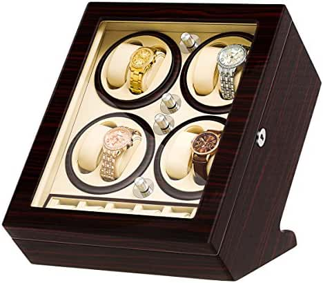 JQUEEN Eight Automatic Watch Winders and 6 Storages