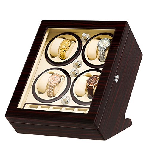 Slot Winder Watch (JQUEEN Eight Automatic Watch Winders and 6 Storages)