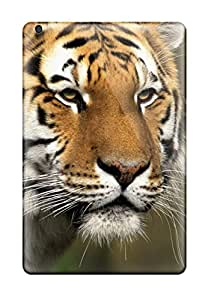 Ipad Mini/mini 2 Case Bumper Tpu Skin Cover For Curious Cat, Siberian Tiger Accessories