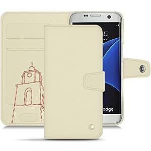 Noreve–Funda Piel Samsung Galaxy S7Edge–Tentation Tropézienne–Blanco escumo