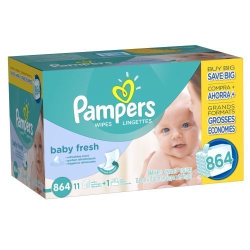 Pampers Soft Care Baby Wipes (864 ct.) by Pampers by Pampers