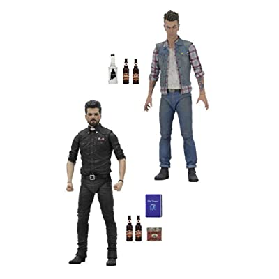 Preacher Jesse and Cassidy 7-Inch Action Figure Set of 2: Toys & Games