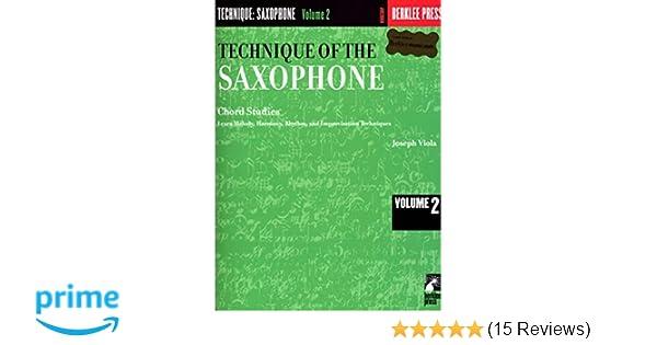 Amazon Technique Of The Saxophone Volume 2 Chord Studies