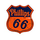 Vintage Phillips 66 Large Shield Sign Review