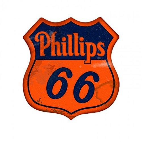 Vintage Phillips 66 Large Shield Sign