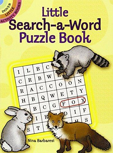 Little Search-a-Word Puzzle Book (Dover Little Activity Books) [Nina Barbaresi] (Tapa Blanda)