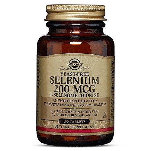 Solgar Yeast Free Selenium 200 Tablets product image