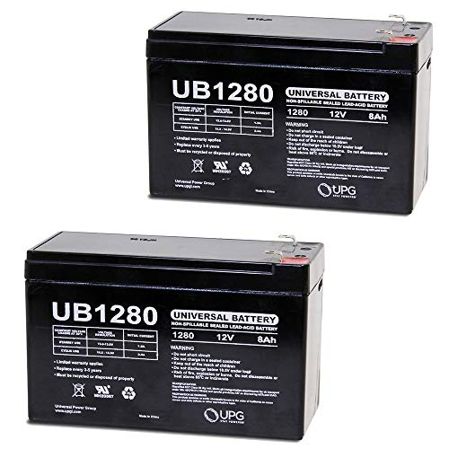 Universal Power Group 12V 8Ah SLA Battery Replacement for Cy