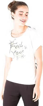 Smash! Camiseta Blanca Estampado Texto Posicional Camiseta ...