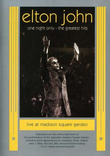 Elton John - One Night Only: The Greatest Hits Live at Madison Square Garden by UNI DIST CORP (MUSIC)