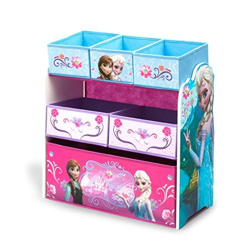 Organizador De Juguetes Multi-compartimiento Disney Frozen