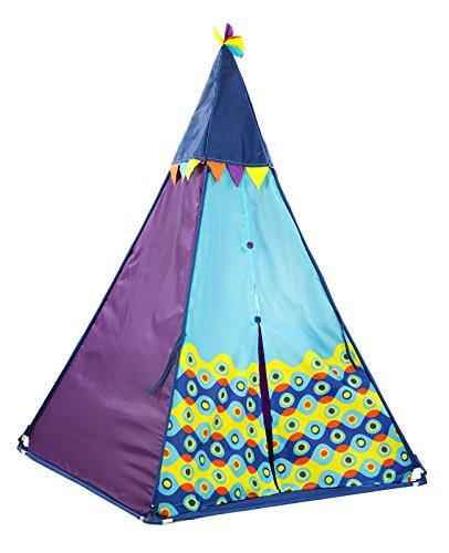Teepee Play Tent W Lights Preschool Pretend Hut Girls Fort Kids Hang Out Lighted