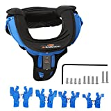 Motocross Neck Brace For Adult Motorcycle Cycling Protector Guard Off-road Riding Body Protection Gears (Black&Blue)