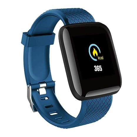Smart Watch Hombres Presión arterial Impermeable Smartwatch ...
