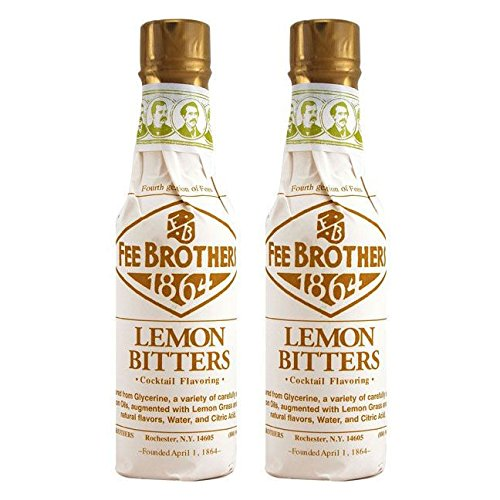 Fee Brothers Lemon Cocktail Bitters - 5 oz - 2 Pack ()