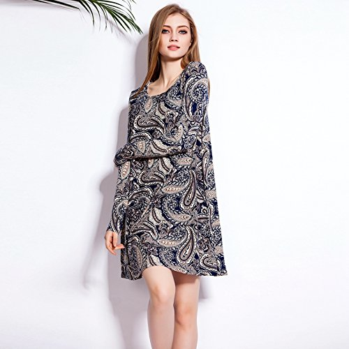 Loose Cocktail Women's Color Floral Bodycon Dresses 1 Summer Party 677xwqF1dC