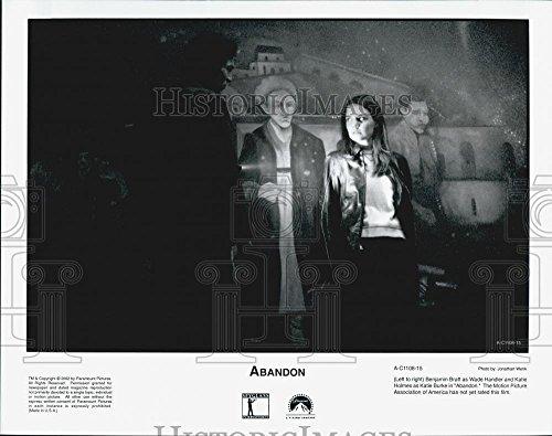 2002 Press Photo Benjamin Bratt And Katie Holmes In