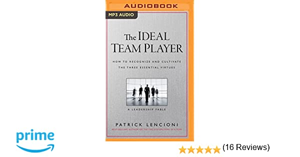 The Ideal Team Player: How to Recognize and Cultivate the Three ...