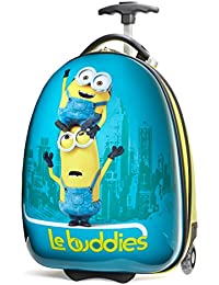 Minions Kid's Hardside Luggage, Blue/Yellow