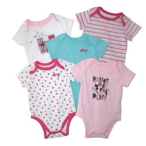 dkny-baby-girls-5pc-short-sleeve-bodysuits-3-6-mos-pink