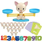 Cool Math Game,Puppy Balance Counting Toys for Boys & Girls Educational Number Toy Fun Children's Gift STEM Learning Age…