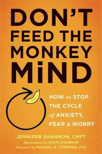 Dont Feed Monkey Mind Anxiety product image