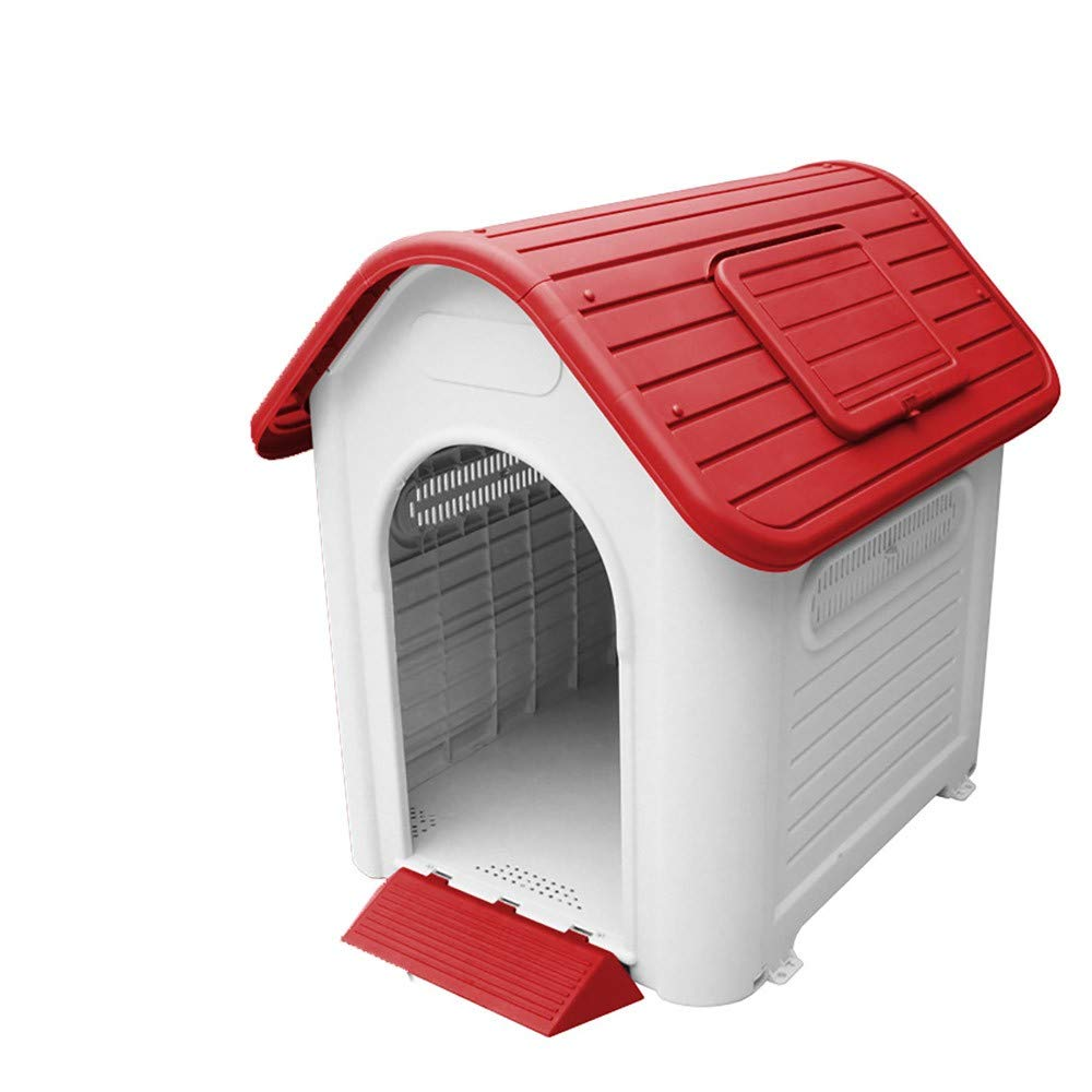 ZMMALarge dog kennel outdoor removable rainproof plastic pet kennel,at,c