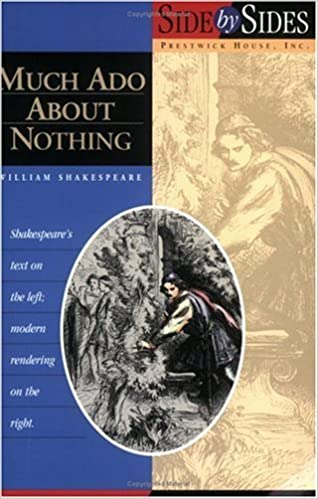 Image result for much ado about nothing book side by side