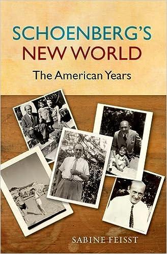 Book Schoenberg's New World