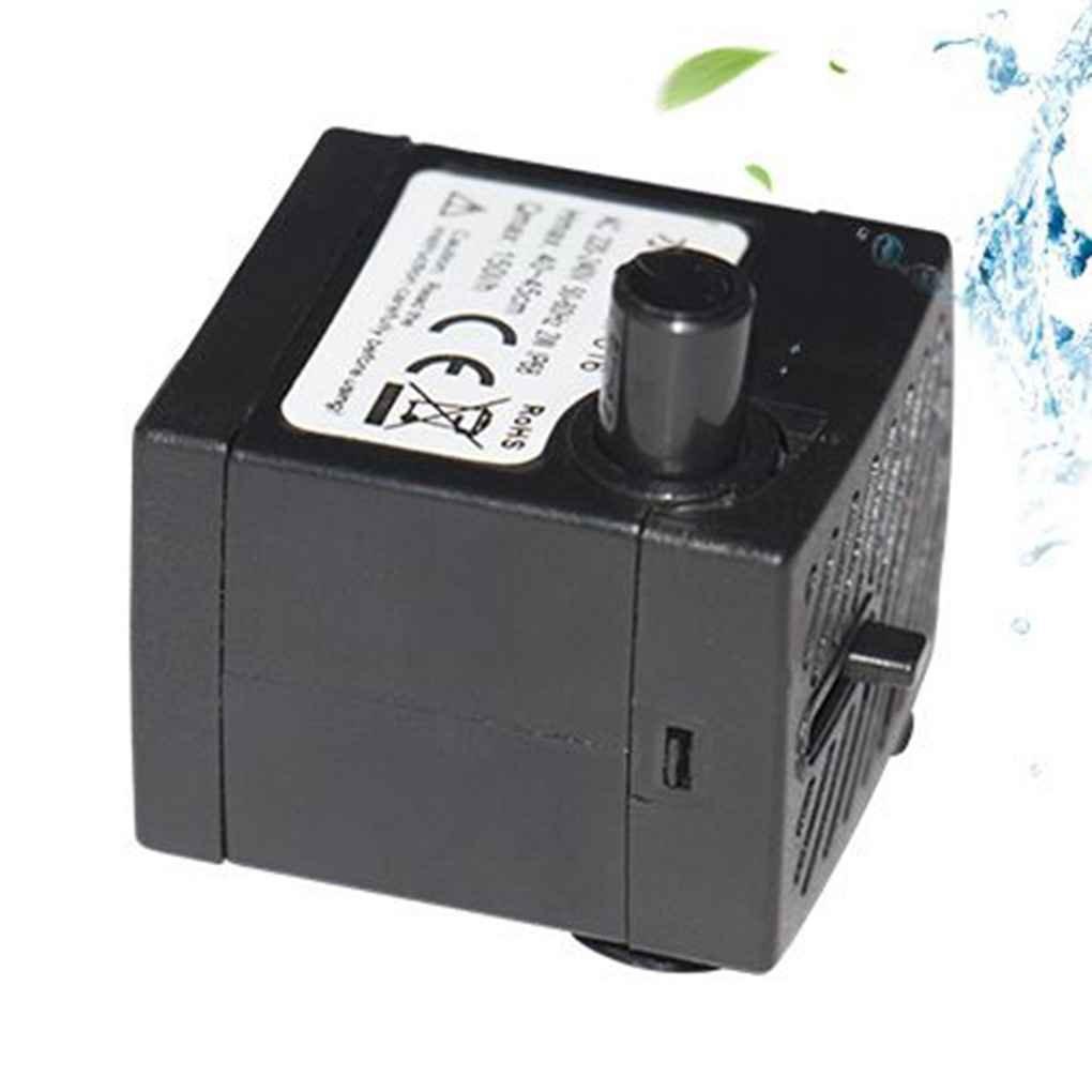 Demino Fish Tank Micro Filtro Diving Pompa ad Acqua dello Stagno Fondazione Water Injection circolazione Aspirator Tranquillo