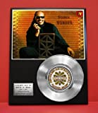 #5: Stevie Wonder LTD Edition Platinum Record Display - Award Quality Music Memorabilia Wall Art -