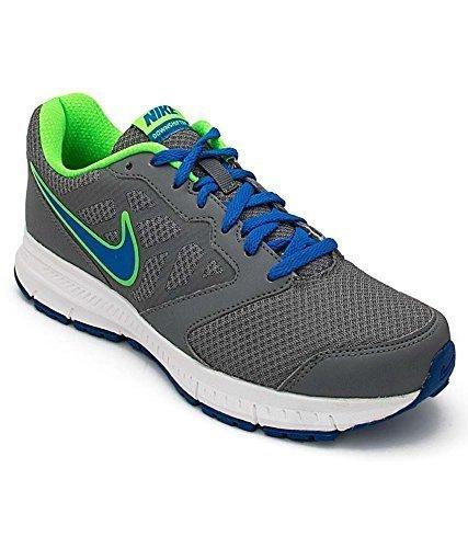 581b7507f0a3 Nike Men s Downshifter 6 Msl Grey- Soar Blue Running Shoes- 5.5 UK ...