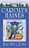 Front cover for the book Hallowed Bones by Carolyn Haines