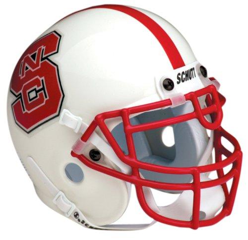 Nc State Football - NCAA North Carolina State Collectible Mini Football Helmet