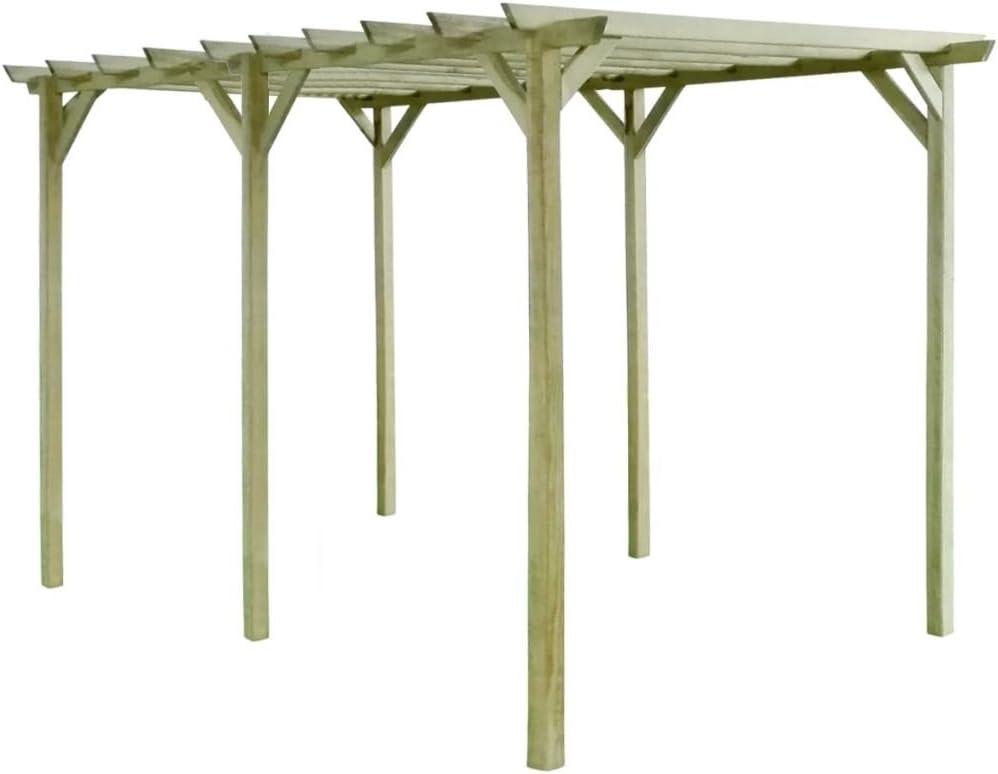 Xingshuoonline Pérgola de jardín pérgola impregnada de Madera de Pino, también se Puede Utilizar para Crear una Entrada.: Amazon.es: Jardín