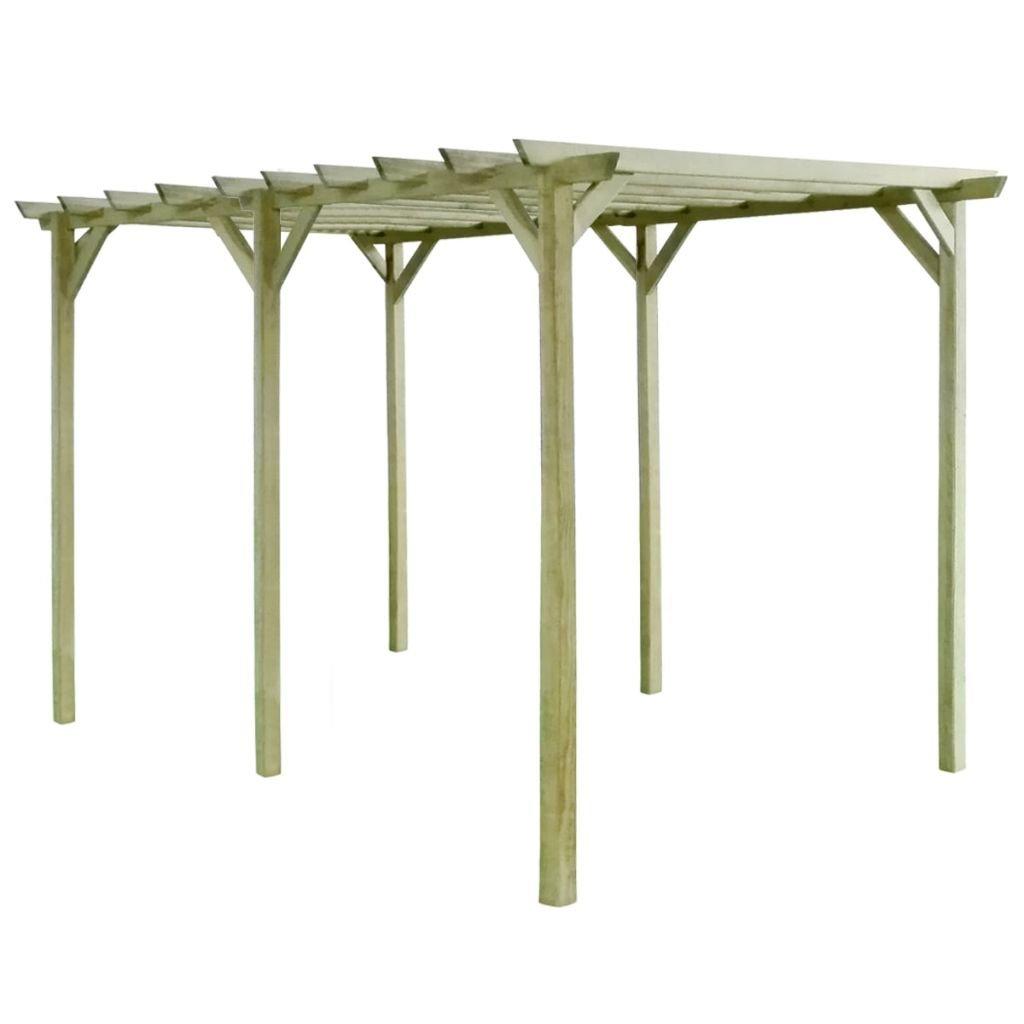 vidaXL Pergola de Jardin Bois de Pin Impr/égn/é FSC Support Plantes Grimpantes