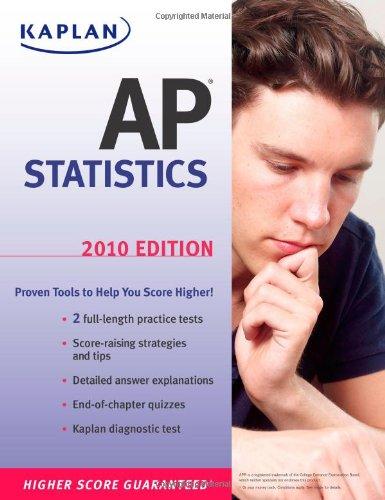 Kaplan AP Statistics 2010