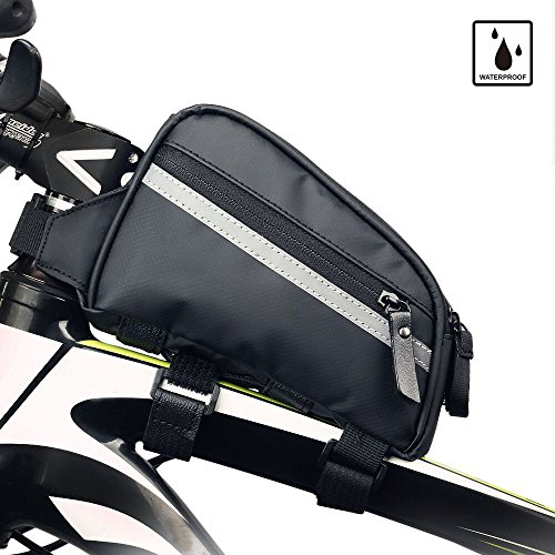 8b04cd0cd7de Rhinowalk Bike Bag Bike Top Tube Bag Bike Frame Bag Waterproof Stable  Bicycle Frame Bag Bicycle