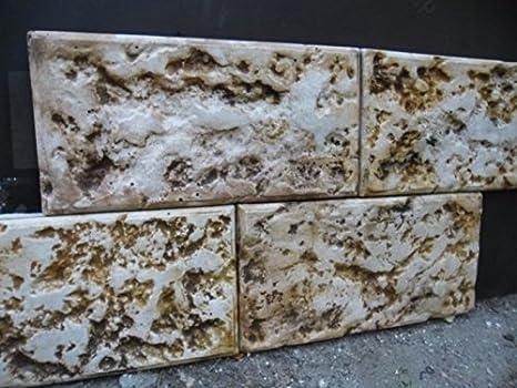 Stampi in plastica per calcestruzzo garden house stone wall
