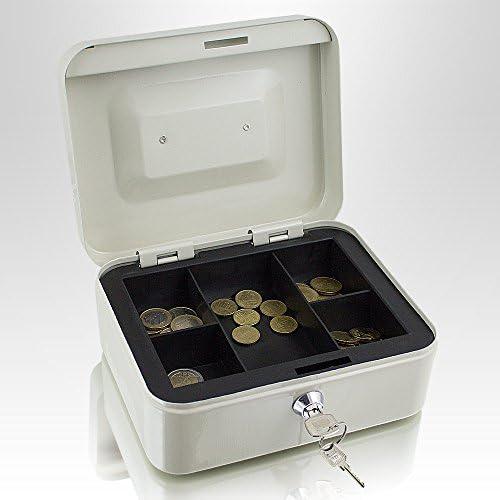 Caja de dinero de 20 cm, pequeña, se puede cerrar, para monedas y ...