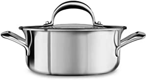 KitchenAid KC2C15EHST Cooking Pot Stainless Steel 16 x 16 x 7 cm Silver