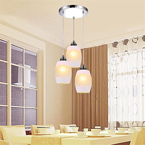 36' Polished Marble (Pendant Lights LED Pendant Lights Dining Room Lamps Modern Colorful Restaurant Pendant Coffee Bedroom Lighting ?Does not contain light source? , 1)