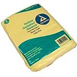 Dynarex Isolation Gown Fluid Resistant Universal, Yellow 10/5/Cs