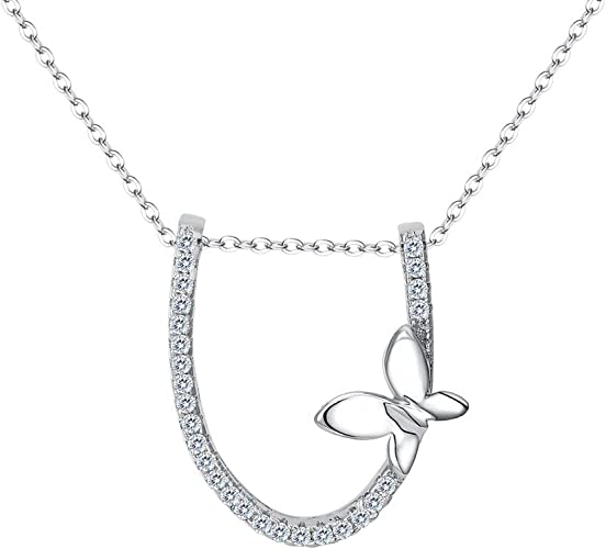 Vintage Angel Cabochon Tibetan silver Glass Chain Pendant Necklace #2996