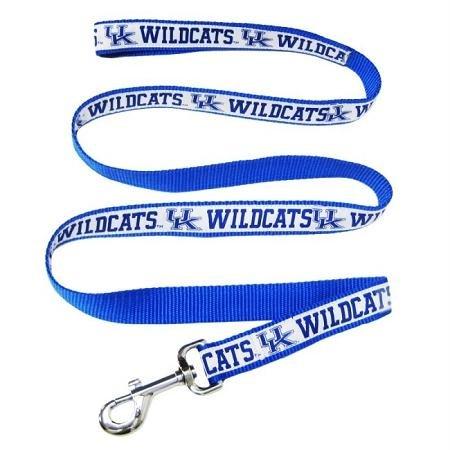 Pets First Kentucky Wildcats Team Pet Dog Collar Leash Large
