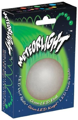 Nite Ize MTLP-08-28 MeteorLight K-9 Led dog ball, Green