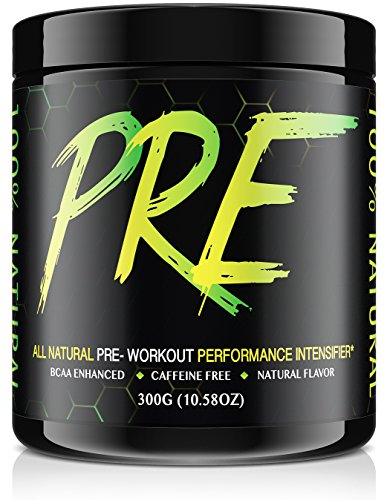 PRE - All Natural Pre Workout Drink - Natural Flavor